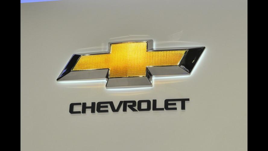 Chevrolet al Salone di Ginevra 2012