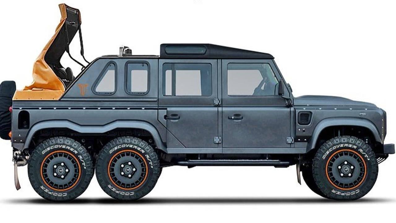 Kahn Flying Huntsman 6x6 Soft Top Land Rover Defender