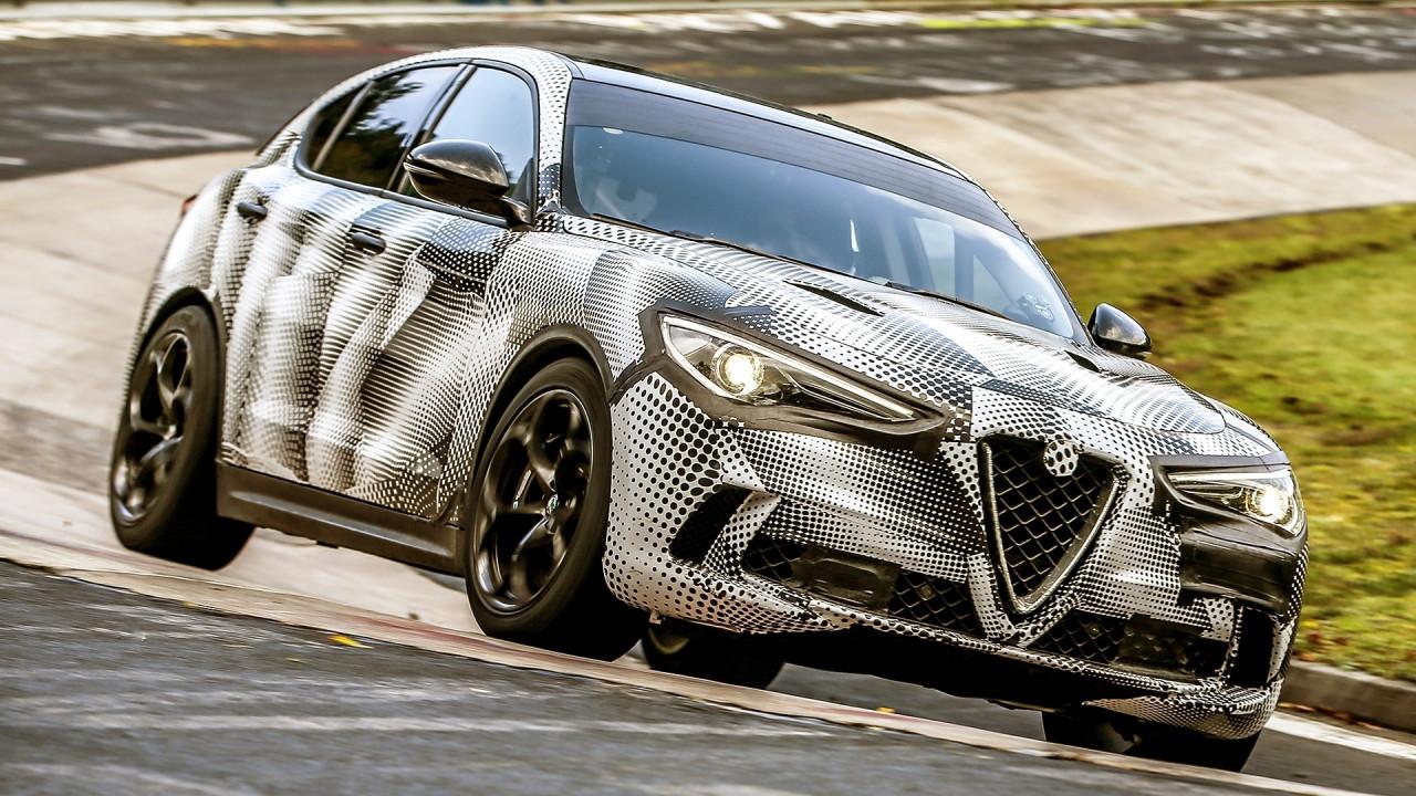 [Copertina] - Alfa Romeo Stelvio Quadrifoglio, giro record al Nurburgring