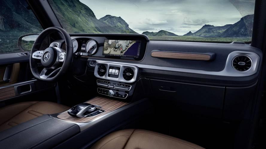 2018 Mercedes G Serisi'nin kabinine daha da yakından bakalım