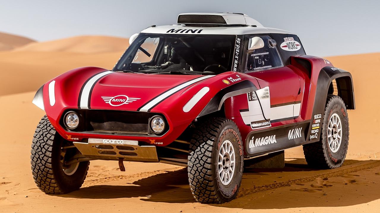 [Copertina] - Mini si sdoppia per la Dakar 2018, arriva anche la