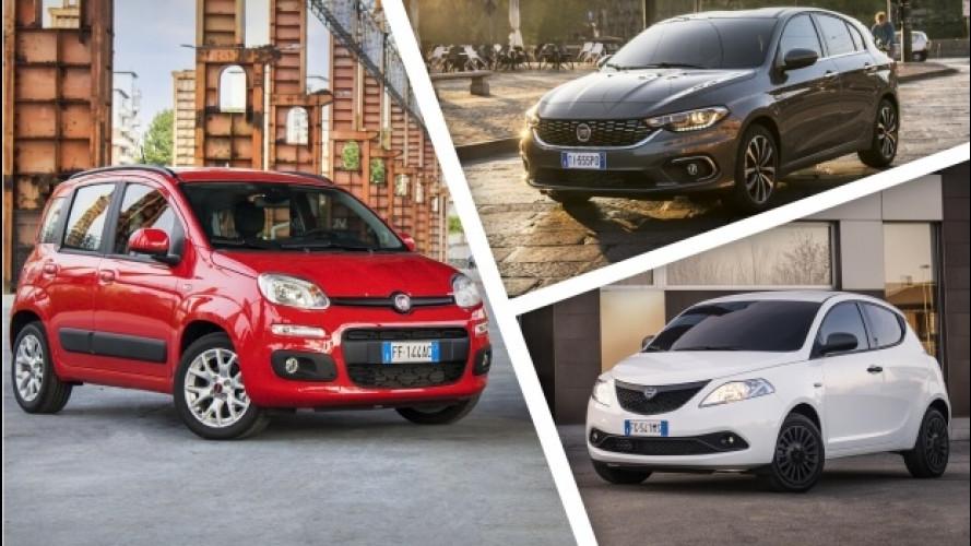 Le auto più vendute in Italia da inizio anno