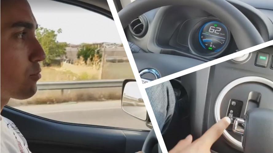 Luigi Di Maio in Sicilia promuove in tour l'auto elettrica [VIDEO]