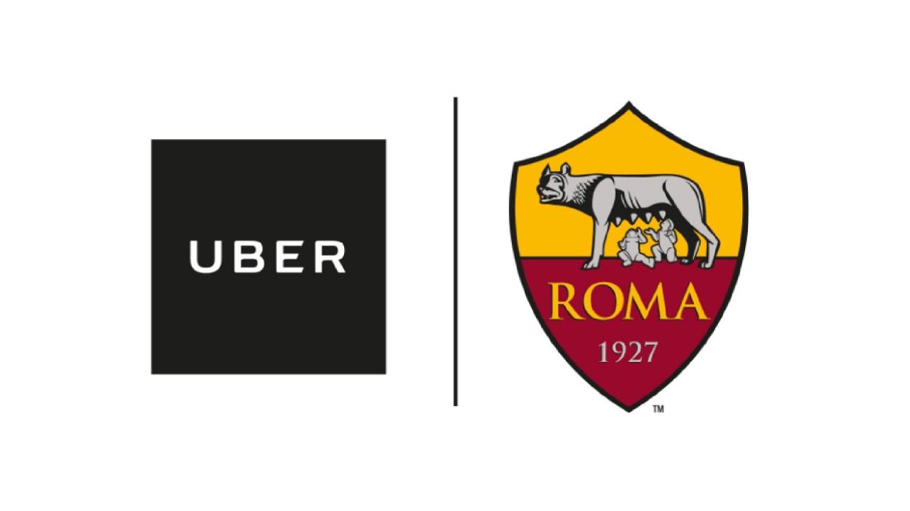 [Copertina] - Uber e AS Roma, sconti del 20% per le corse da e per lo stadio