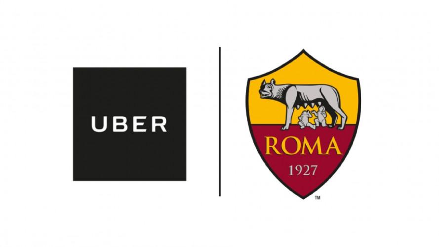 Uber e AS Roma, sconti del 20% per le corse da e per lo stadio