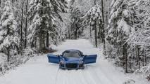 Audi R8 winter photo session