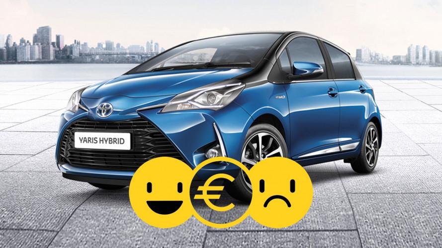 Promozione Toyota Hybrid Bonus, perché conviene e perché no