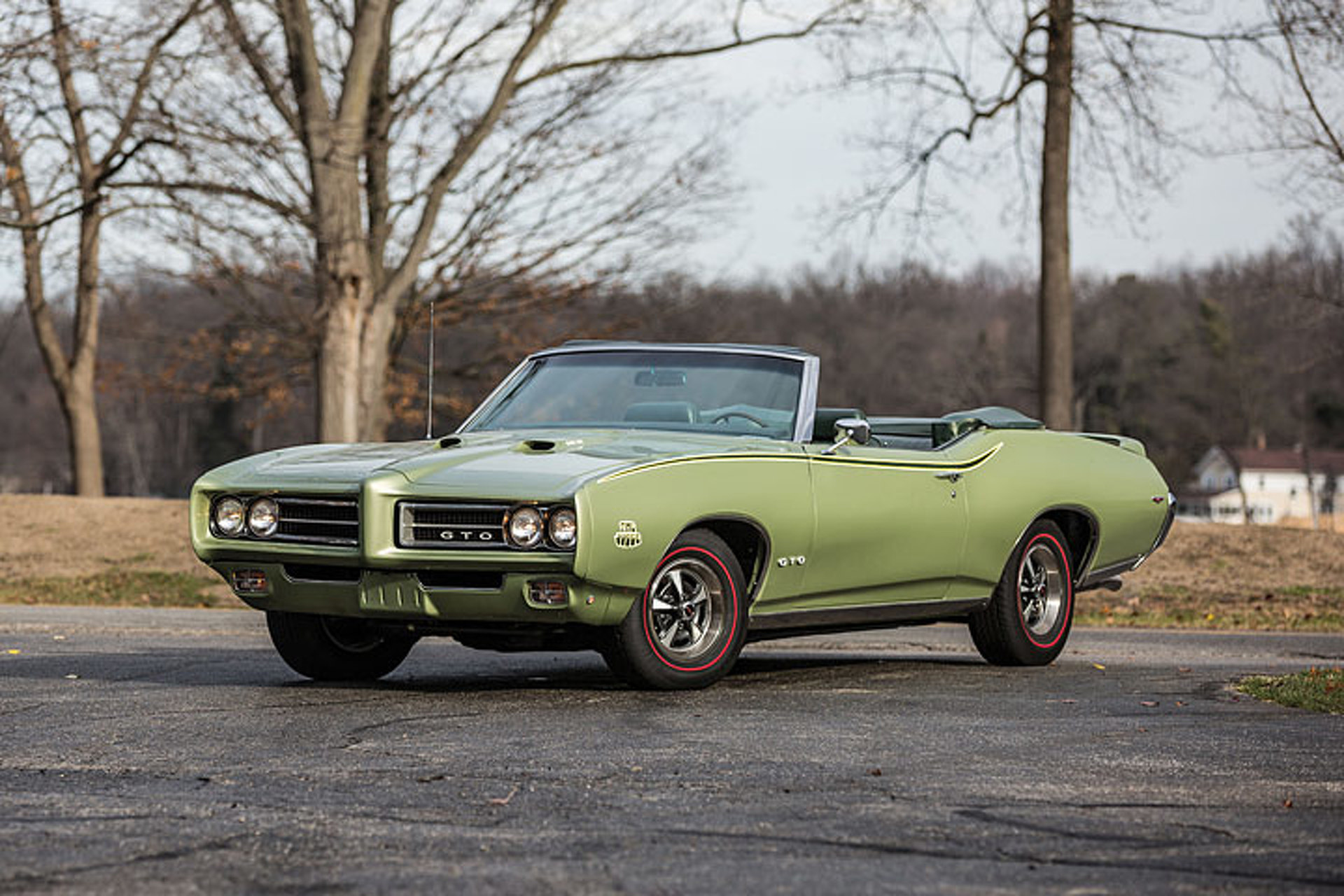 meet the only triple green 69 pontiac gto judge in the world