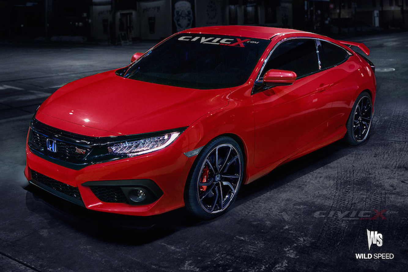 A New Honda Civic Si Won't Be Ready Until 2017—May Have 230HP