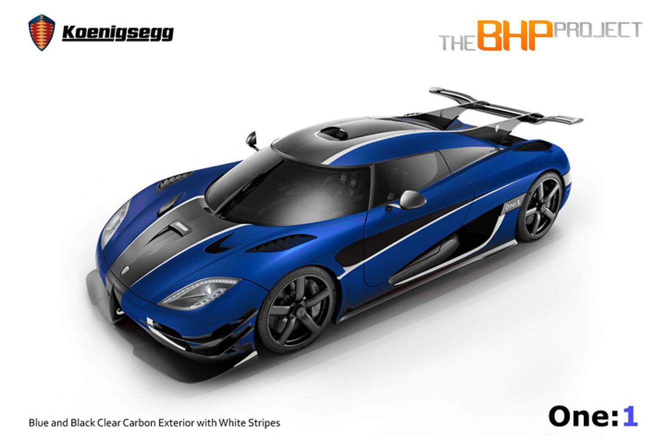 The UK Gets a Dazzling Koenigsegg One:1 Megacar
