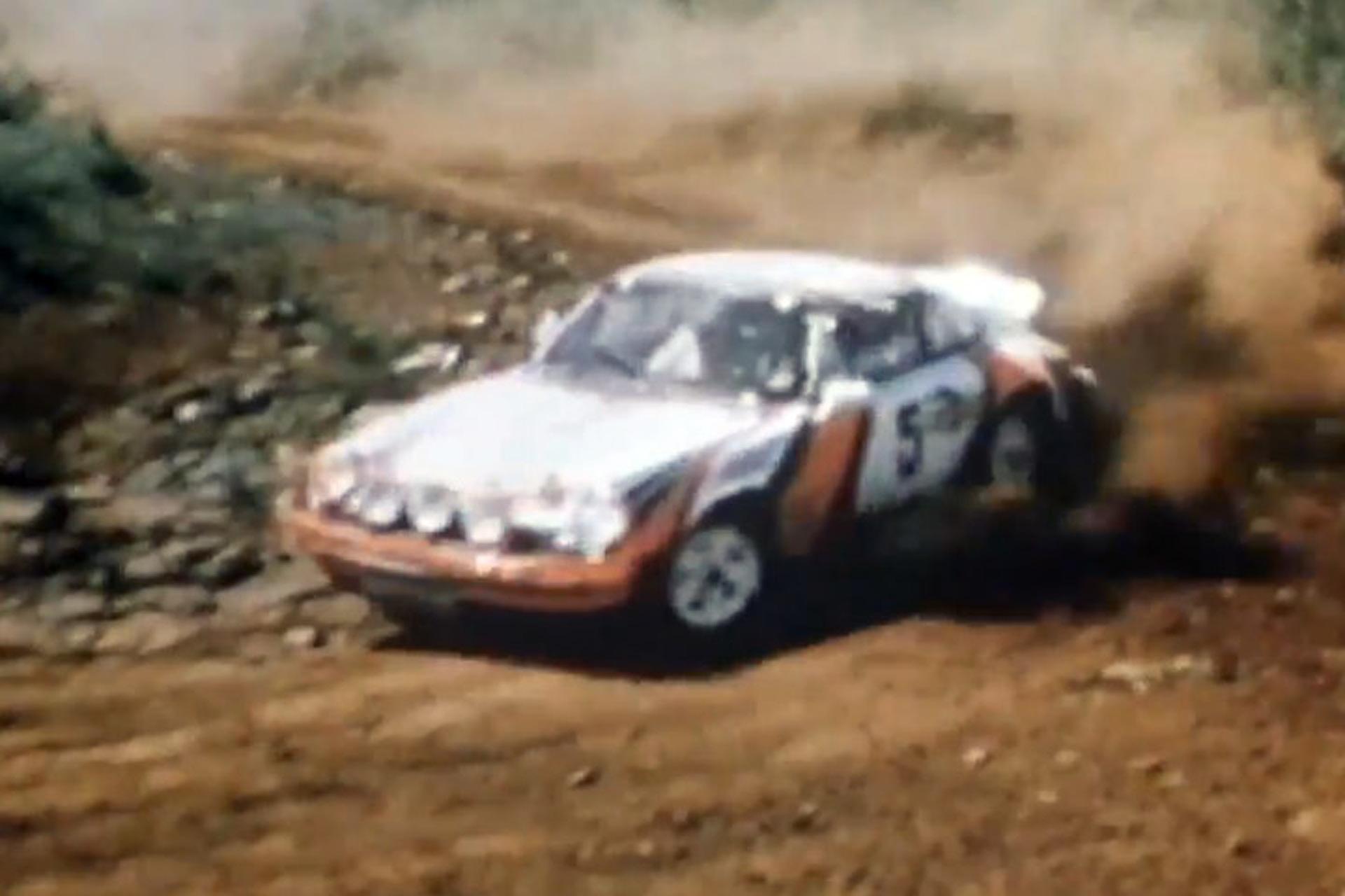 Porsche Looks Back At Its 1978 Porsche 911 Sc Rally Car Video