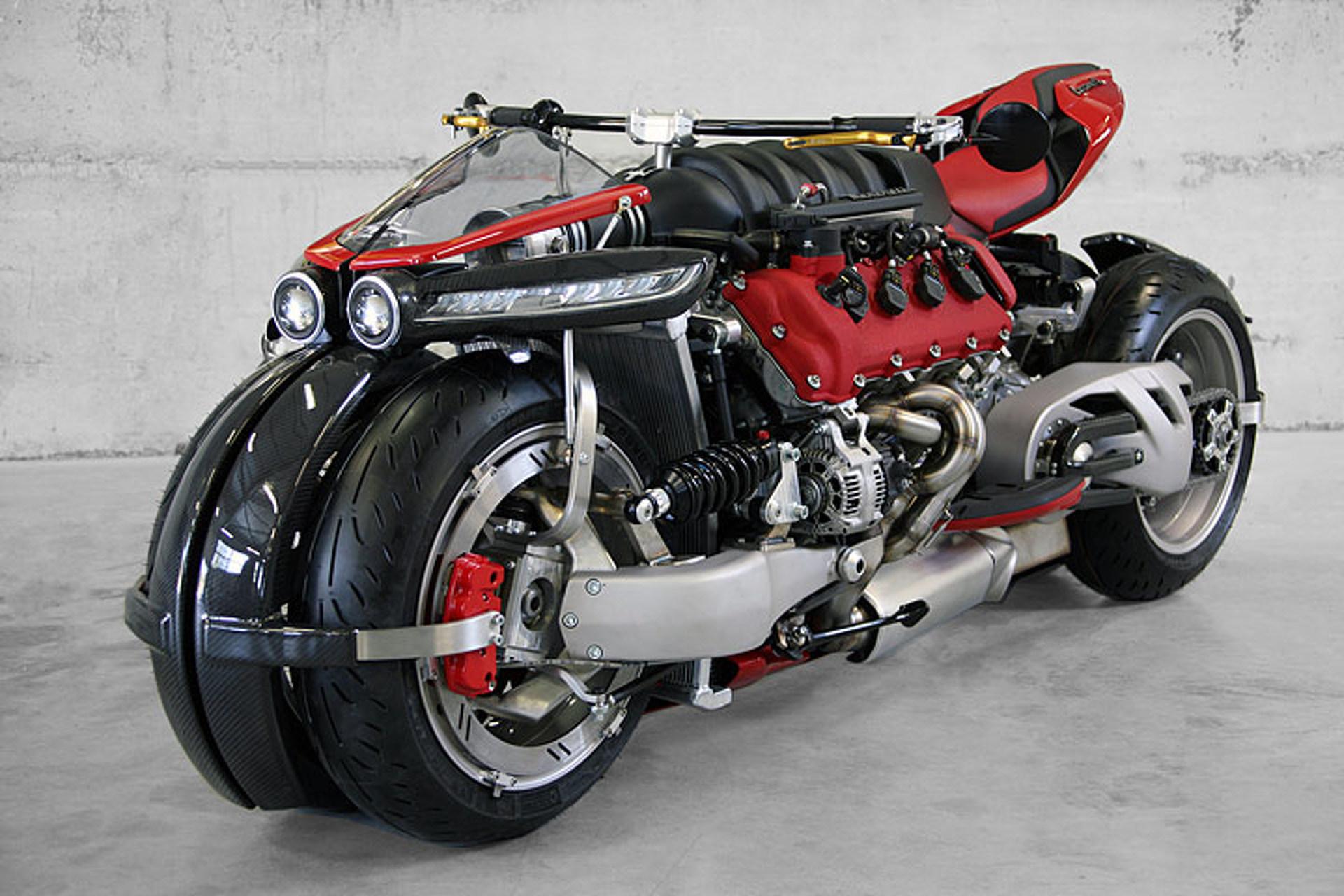 Yes, This Quad Bike is Built Around a Maserati V8