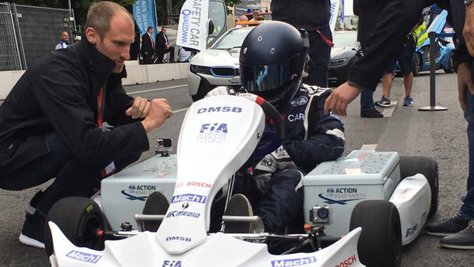 Karting's electric future arrives at Berlin Formula E race