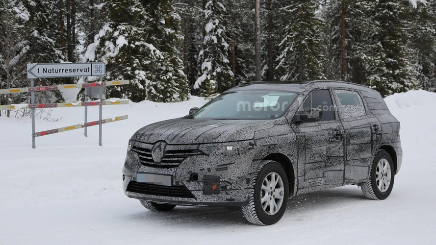 Renault prépare son nouveau SUV en remplacement du Koleos