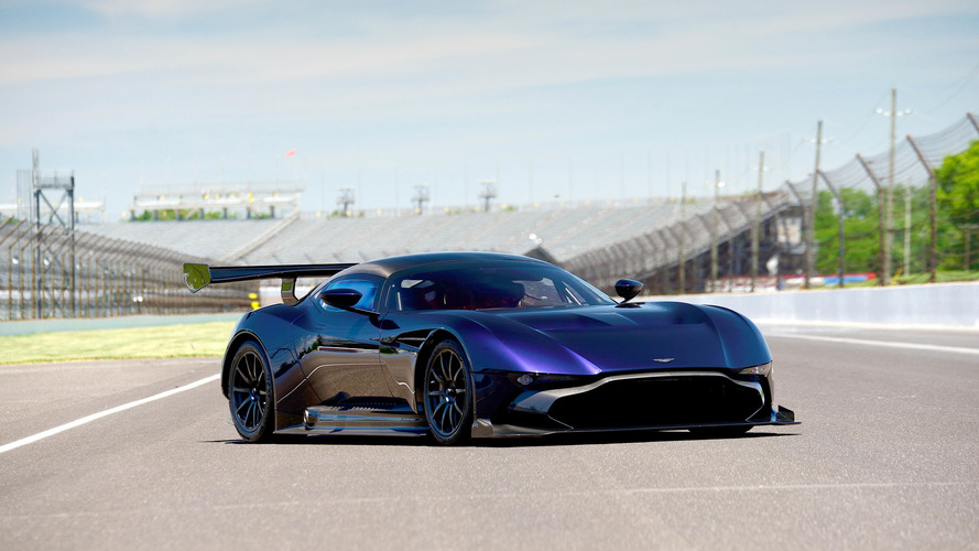 Aston Martin Vulcan up for auction