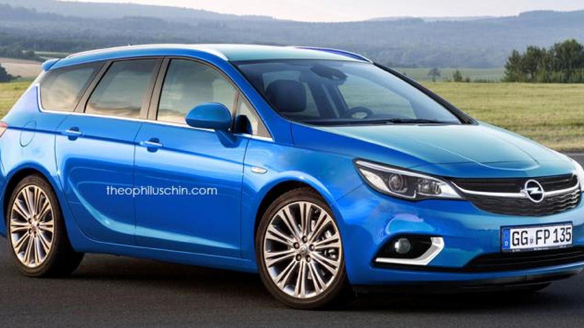 Favorite Opel Astra Sports Tourer
