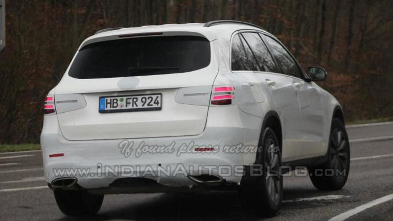 Mercedes-Benz GLC spy photo / IndianAutosBlog