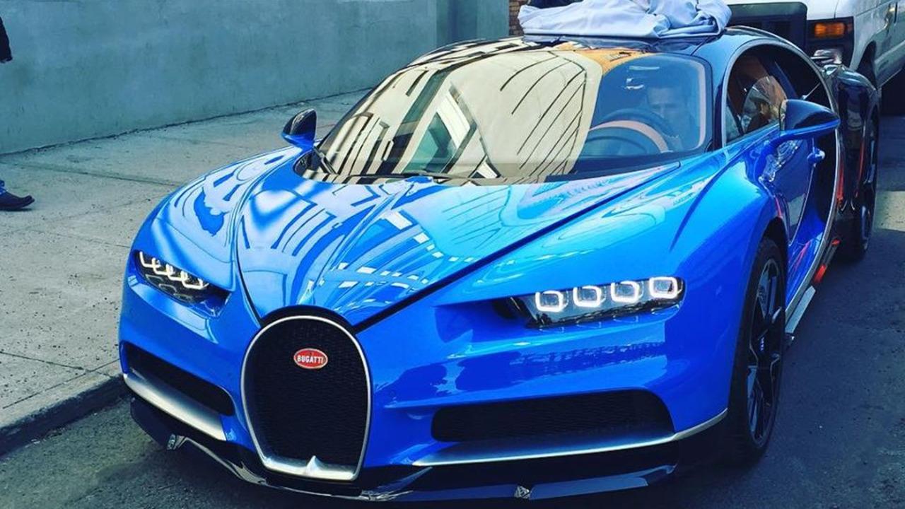 Bugatti Chiron in New York