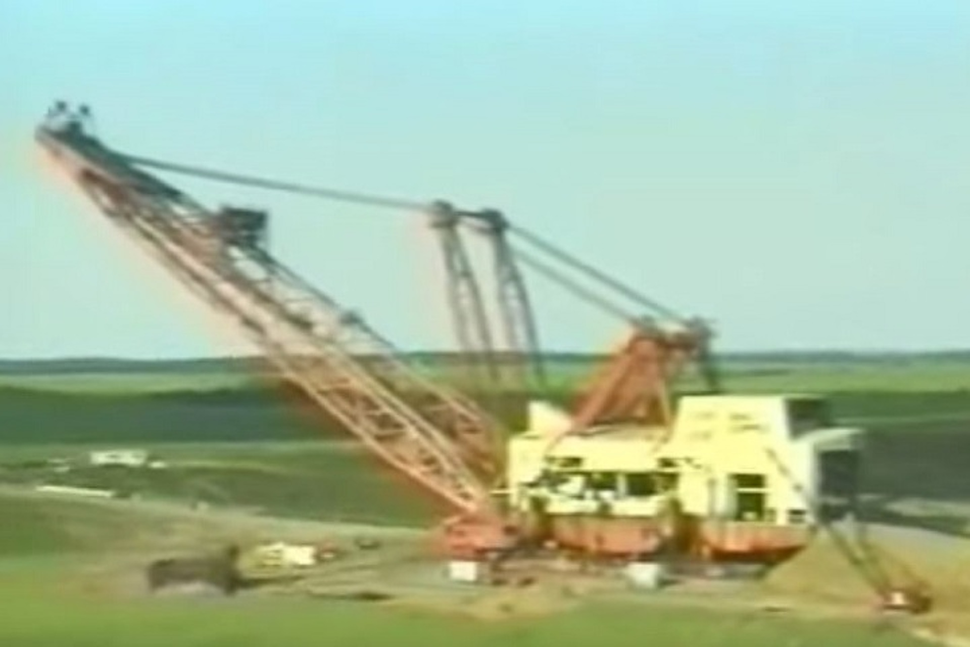Watch the Demolition of the World's Largest Earth Mover