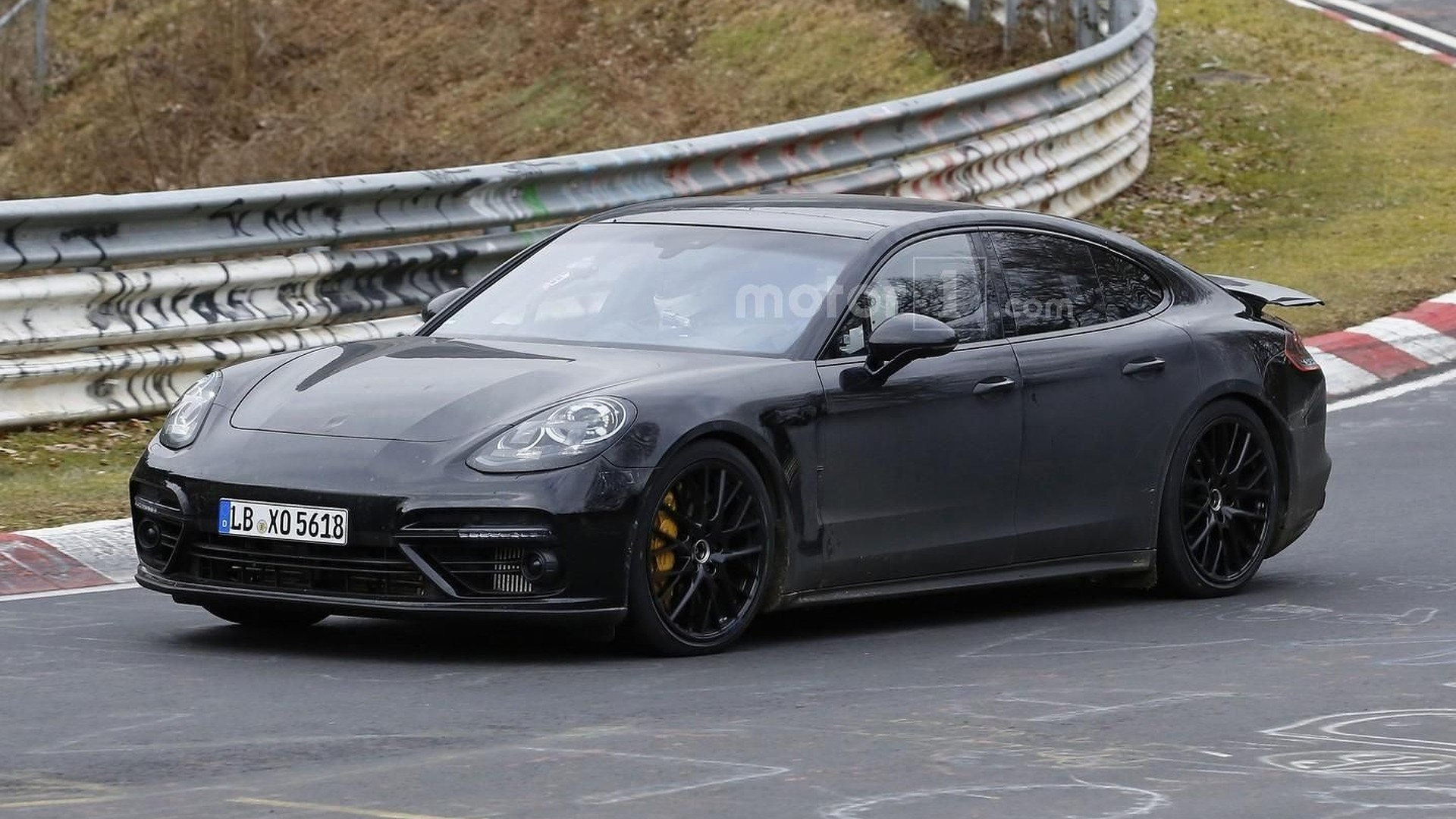 2017 Porsche Panamera Hits The Nurburgring One More Time