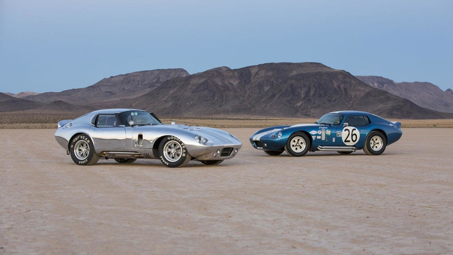 Shelby American 50th Anniversary Cobra Daytona Coupe announced