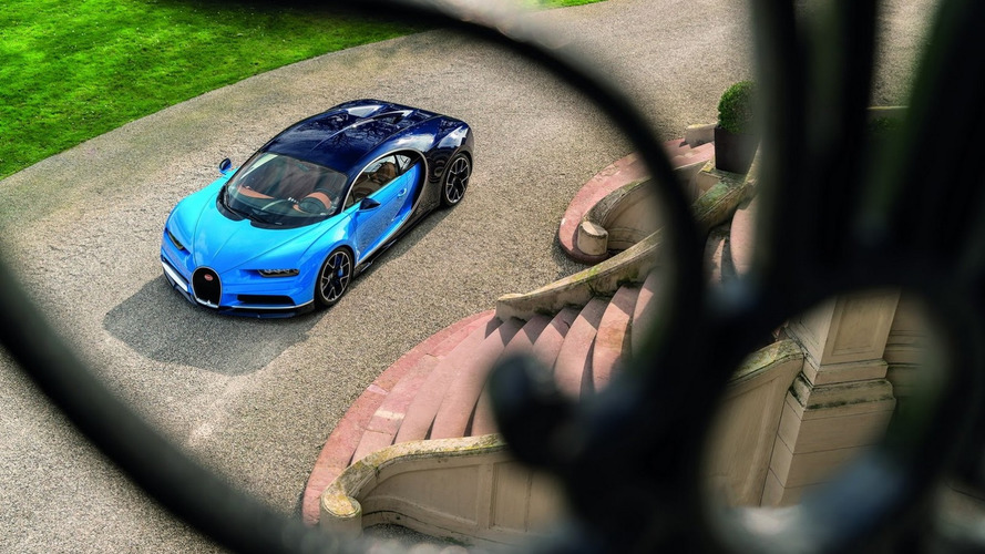 Bugatti Chiron получит исполнение Super Sport