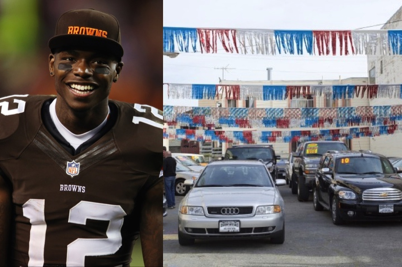 Suspended Browns WR Josh Gordon Spending His Offseason Selling Cars
