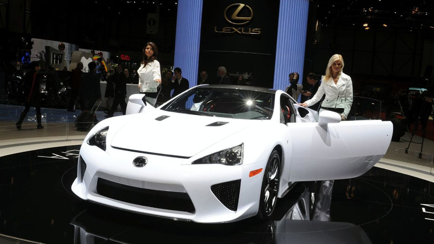 Lexus LFA full purchase now allowed in U.S.