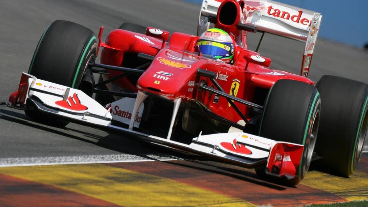 Felipe Massa (BRA), Scuderia Ferrari, European Grand Prix, Friday Practice, 25.06.2010 Valencia, Spain
