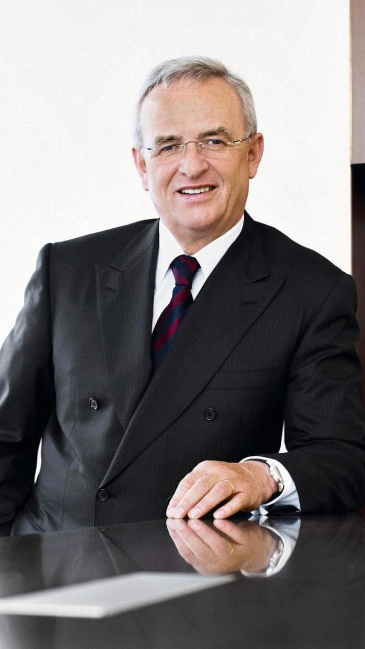 VW CEO Martin Winterkorn 03.01.2011