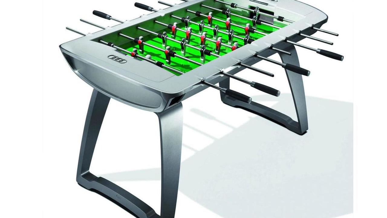 Audi Designs Limited Edition Foosball Table - Foosball table cost