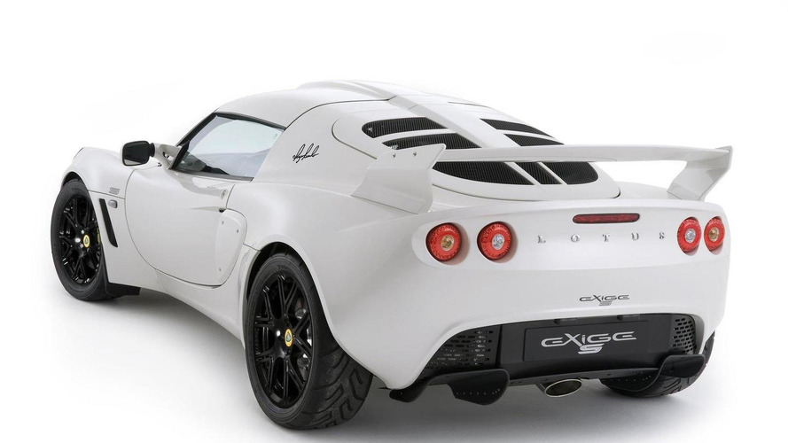 Lotus Elise and Exige RGB Special Editions announced in honor of former engineer