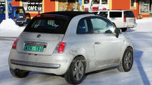 Fiat 500 Convertible spy photo
