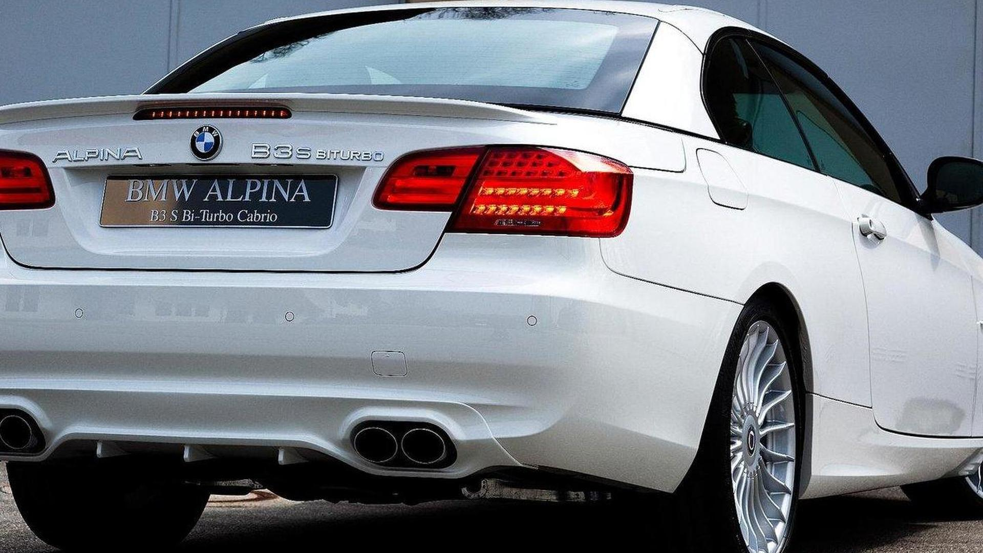 Alpina B3 S Bi Turbo With 400hp Set For Uk Launch