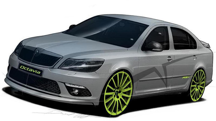 skoda fabia rs and octavia rs tuning concepts to be. Black Bedroom Furniture Sets. Home Design Ideas