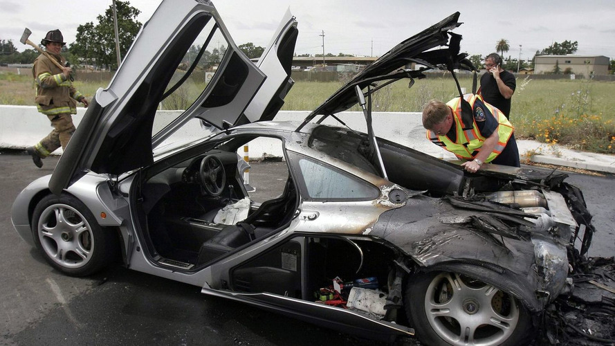 Burnt McLaren F1 supercar heading back to England for repairs
