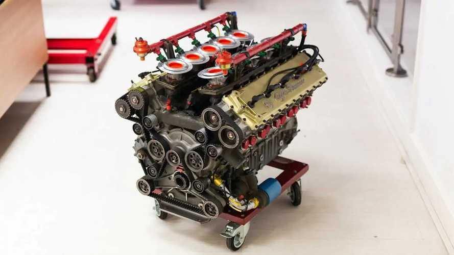 Moteur V10 Alfa Romeo de Formule 1