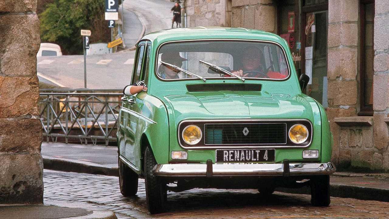 Der Renault 4 in seiner Urform anno 1961