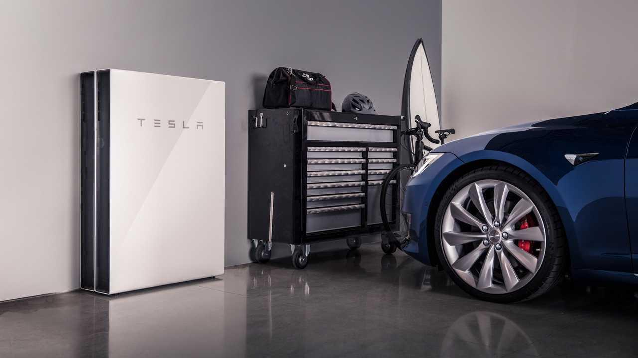 Tesla Powerwall home energy storage system