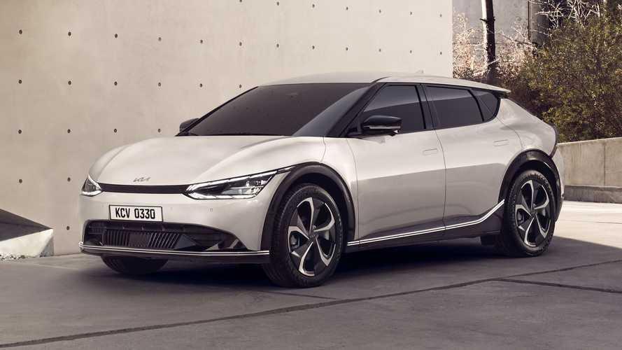 Kia EV6 (2021): Erste Bilder vom neuen Elektro-Crossover