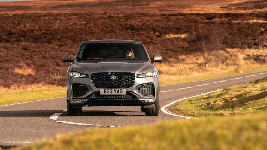 2021 Jaguar F-Pace: First Drive