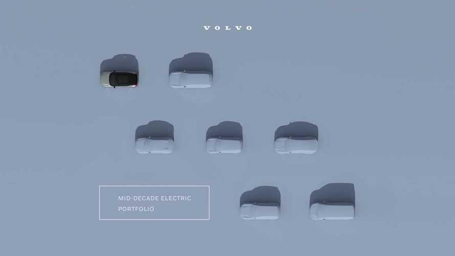 Volvo готовит шесть новых электромобилей, первый представят сегодня