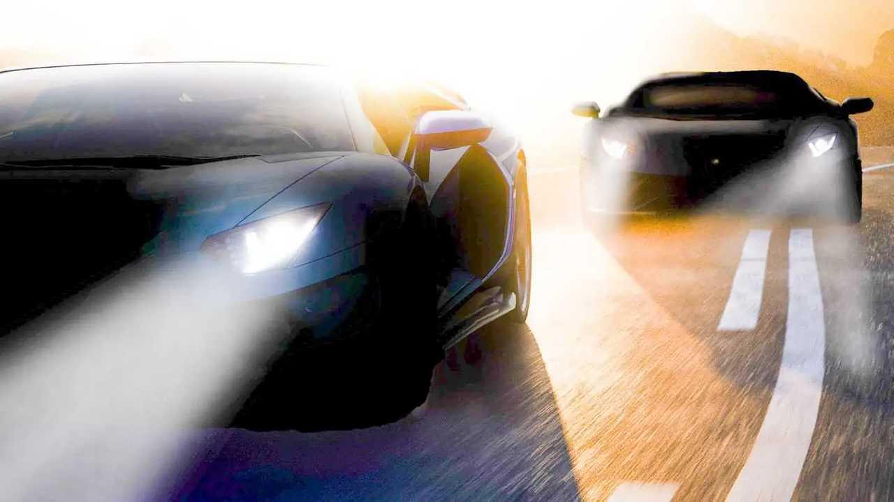 Lamborghini Aventador Teaser