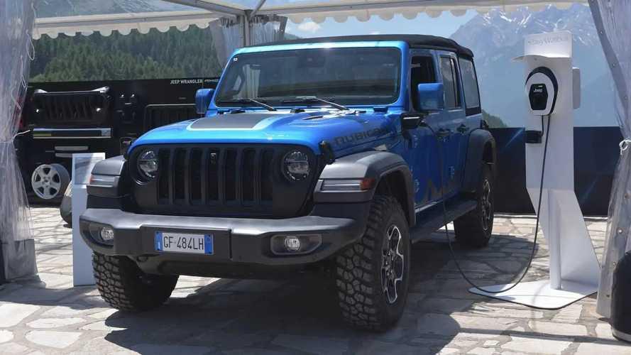 Jeep Wrangler 4xe Aksesoris Mopar