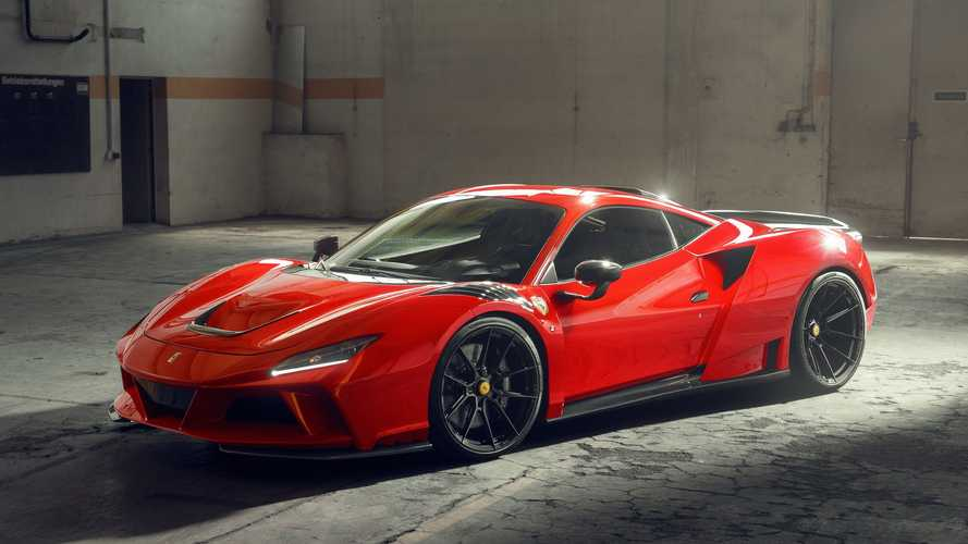 Novitec N-Largo auf Basis Ferrari F8 Tributo