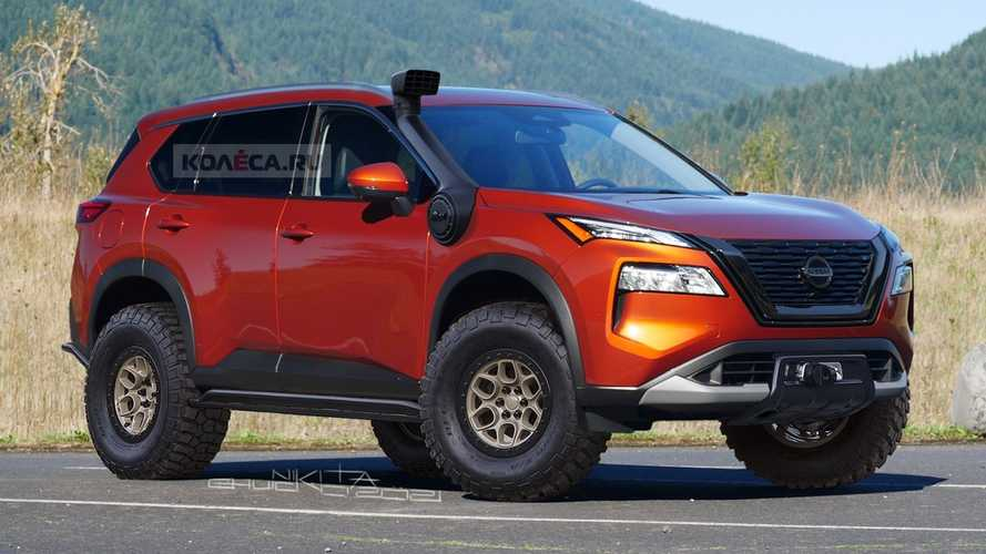 Nissan Rogue Off-Roader Unofficial Rendering Looks Ready To Go Dirty