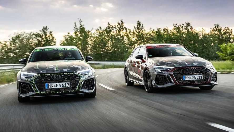 Audi RS 3 (2021) - Teaser