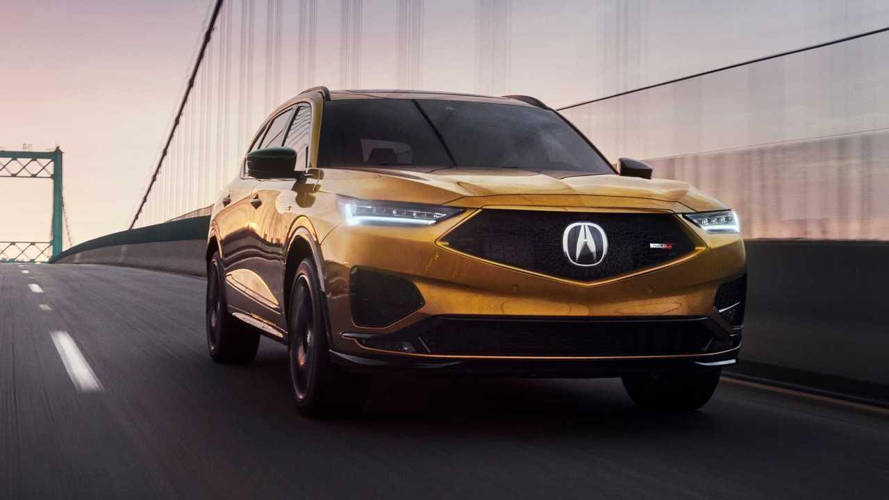 Acura раскрыла дизайн «заряженного» MDX Type S
