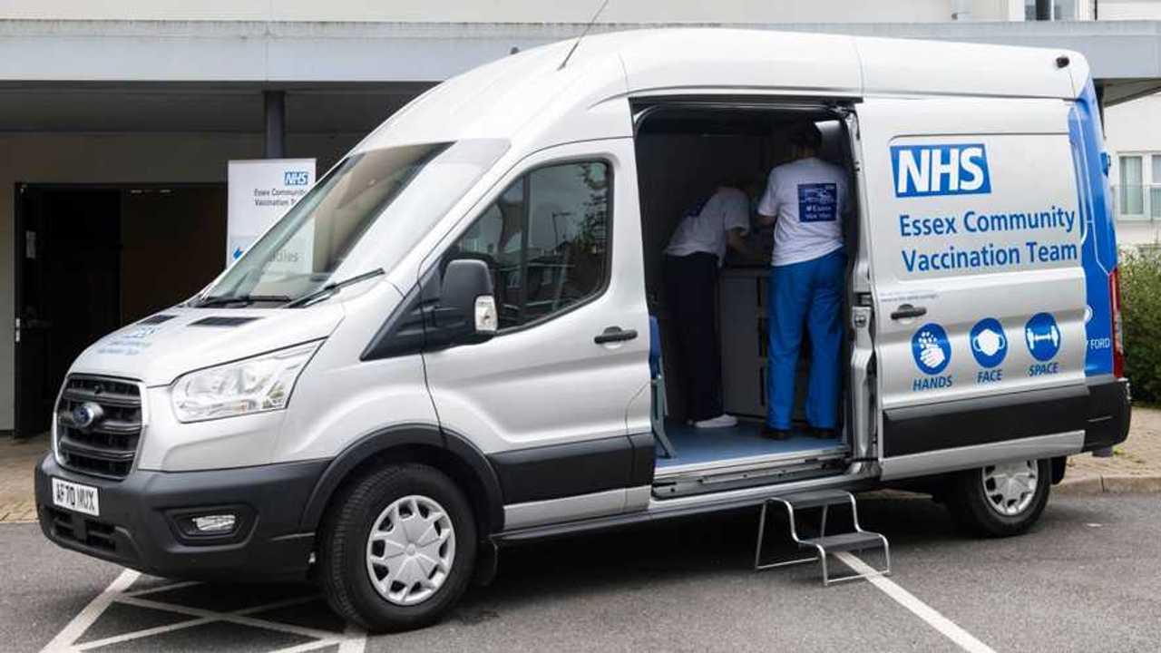 Ford Transit NHS Vaccine Van