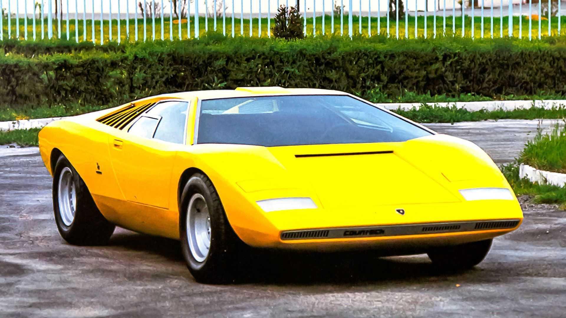 Lamborghini Countach LP 500 - 50 aniversario